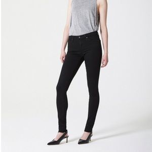 AG 'The Legging Ankle' Jean in Black